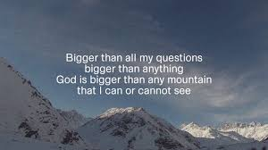 God is bigger image 3